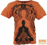 Sure T-Shirt Meditation Buddha - rostorange