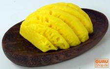 Handgeformte `Fruit & Flower` Seife - Ananas