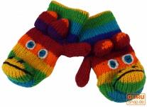 Kinderhandschuhe, Tierhandschuhe Affe