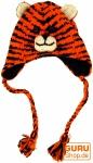 Kindermütze Tiger