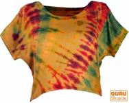 Batik Hippie T-Shirt - beige/bunt