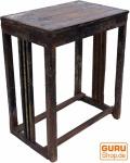 Antik Rustikaler Flurtisch, Telefontisch, Beistelltisch mit Patina