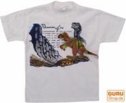 Kinder T-Shirt Hippie Goa `Tyrannus Saurus`