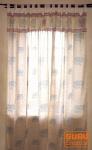Vorhang, Gardine (1 Paar Vorhänge, Gardinen) mit Elefanten Design