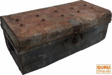 Alter Blechkoffer antiker Metallkoffer - Modell 15