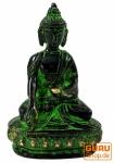 Buddha Statue aus Messing Bhumisparsa Mudra