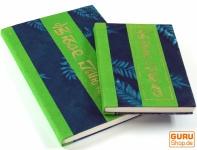 Notizbuch aus Loktapapier Mantra in 2 Größen