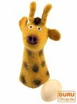 Filz Eierwärmer - Giraffe
