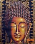 Gemälde auf Leinwand Buddha 100*80 cm