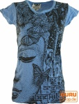 Sure T-Shirt Buddha - blau