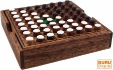 Brettspiel, Gesellschaftsspiel aus Holz - Othello, Holzspiel