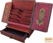 Brief & Schreibtisch Ordner - rot Modell 2