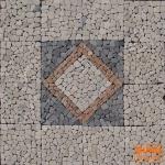 Quadratisches Mosaik Ensemble (120*120 cm) - Design 2