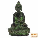 Buddha Statue aus Messing Akshobaya Buddha 8 cm - Modell 11
