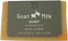Handgemachte Ziegenmilch Seife, Honig, 100 g, Fair Trade