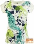 Pure T-Shirt Jellyfish - weiß