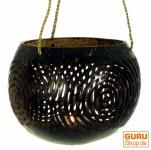 Kokosnuss Teelicht zum Hängen
