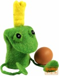 Filz Eierwärmer - Froschkönig