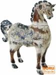 Geschnitztes Pferd, Dekoobjekt - Design 1