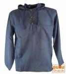 Nepal Hemd Goa Hippie Sweatshirt - blau