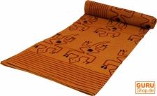 Blockdruck Tagesdecke, Bett- Sofaüberwurf, handgearbeiteter Wandbehang, Wandtuch Nr.1