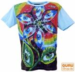 Mirror T-Shirt - Drittes Auge / hellblau