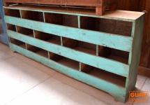 Offenes Sideboard, Bücherregal, Kommode, Massivholz Indien