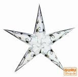 Stern Lichterkette Mini - natur