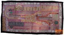 Patchwork Wandbehang, Einzelstück 100*55 cm