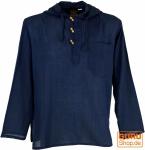 Nepal Hemd, Goa Hippie Sweatshirt - blau