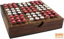 Brettspiel, Gesellschaftsspiel aus Holz - Sodoku