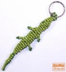 Gecko Perlen Schlüsselanhänger