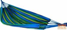 Outdoor Hängematte, 200x150 cm, 1-2 Personen, blau gelb grün