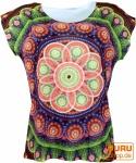 Psytrance T-Shirt , Yoga T-Shirt, Retro T-Shirt - Mandala