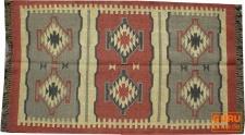 Orientalischer grob gewebter Kelim Teppich 160*90 cm - Muster 1