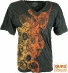 Pure T-Shirt - Psytrance anthrazit