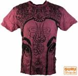 Sure T-Shirt Ganesh - bordeaux