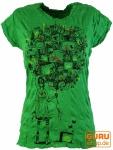 Pure T-Shirt TV balloon - grün