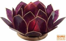 Lotus Teelicht Muschel 17 cm in 11 Farben