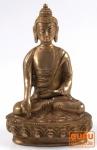 Messing Buddha Ratnasambhava, Bhumisparsha-Varada Mudra 1.440 g