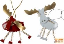 Weihnachts Rentier in 2 Farben