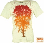 Pure T-Shirt Tree of Life - weiß