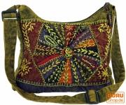 Schultertasche, Patchwork Hippie Tasche, Goa Tasche