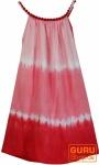 Batik Kinderkleid, Sommerkleid, Trägerkleid, Strandkleid, Mädchenkleid - rot