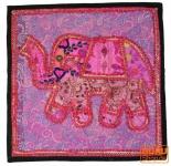 Patchwork Kissenhülle Rajasthan, Einzelstück - 14