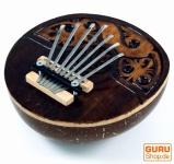 Musikinstrument aus Holz, Musik Percussion Rhythmus Klang Instrument, handgearbeitet aus Kokosnuß - Kalimba 3