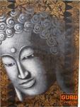 Gemälde auf Leinwand Buddha 120*90 cm