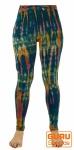 Batik Leggings - blau