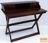 Schreibtisch mit klappbarem Ständer & 2 Schubfächern - Modell 10