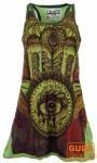 Weed Top, Longshirt, Minikleid Fatimas Hand - grün